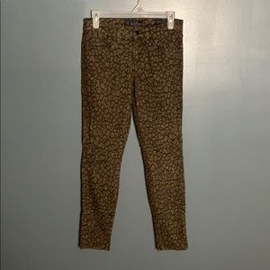 Guess Britney Ankle Skinny patterned jeans